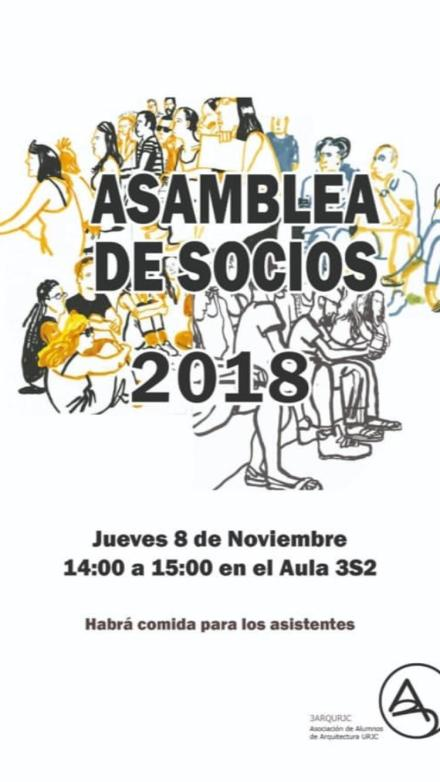 Asamblea de socios 2018